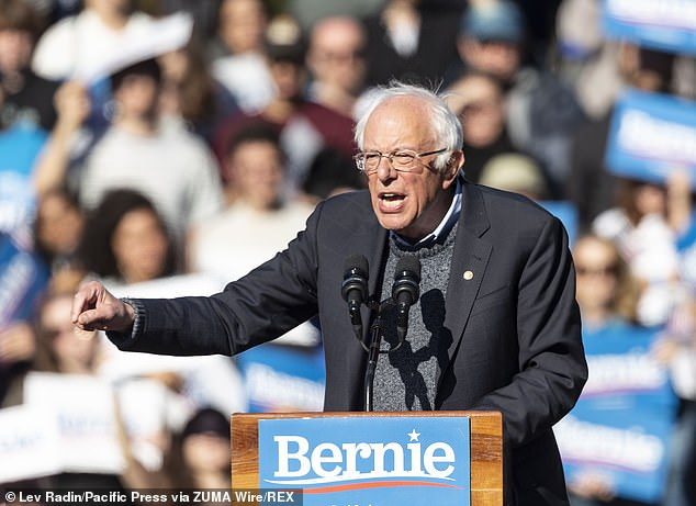 Bernie Sanders also came to Gabbard's defense. Gabbard stepped down from her post as vice chairwoman of the DNC and endorsed Sanders in 2016 instead of establishment Democrat Hillary Clinton