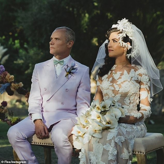 'My life has changed forever and I am eternally humble and grateful!' Red Hot Chili Peppers bassist Flea announced Tuesday that he'd married his second wife, designer Melody Ehsani, in Los Angeles on Sunday