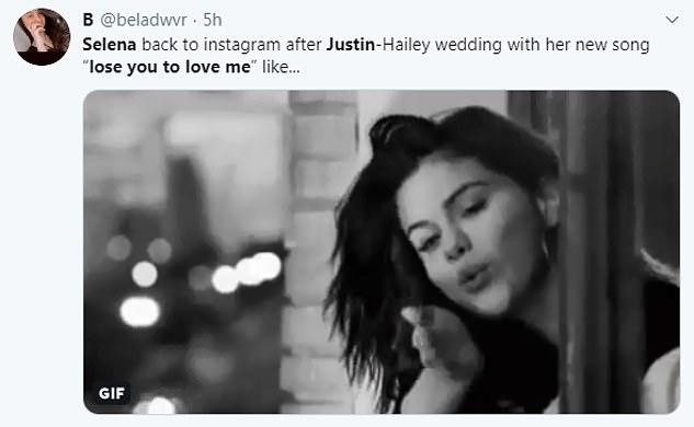 Envoyer un message à Justin? Les fans ont partagé leurs réflexions sur les paroles poignantes des médias sociaux, exprimant leur soutien à Selena