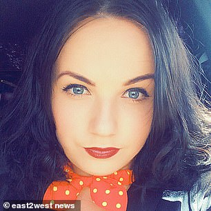 Mother-of-one Galina Gurieva, 27, who filmed the horrible scenes, said that her knees were trembling after the show