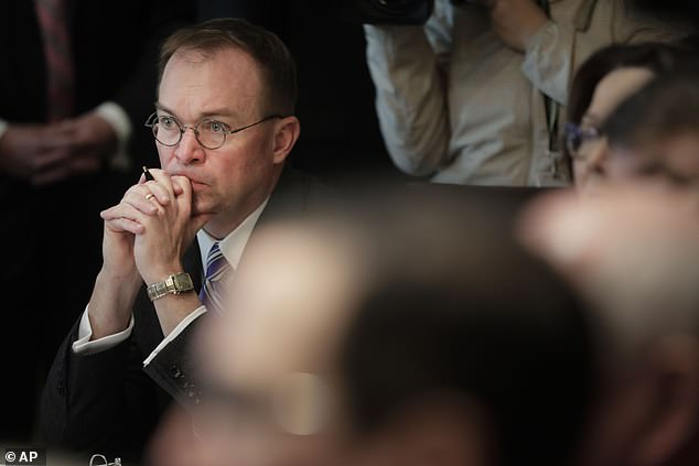 Acting White House Chief of Staff Mick Mulvaney has worked on Trump's defense