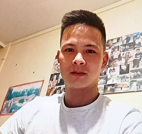 Father-of-two Vo Ngoc Nam, 28, is also feared to have been in the ill-fated container