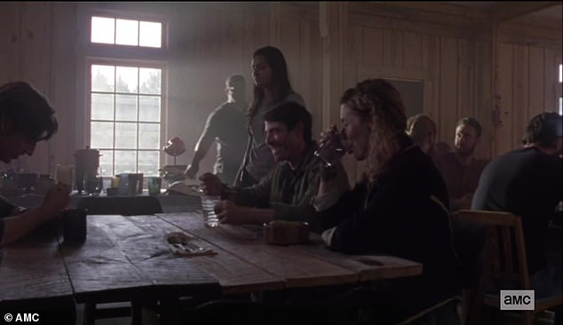 Dining hall: Lydia approached her bullies in the dining hall