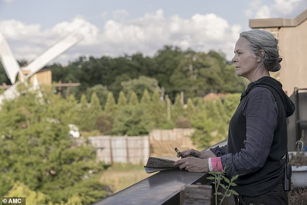 Looking out: Carol Peletier watched from above