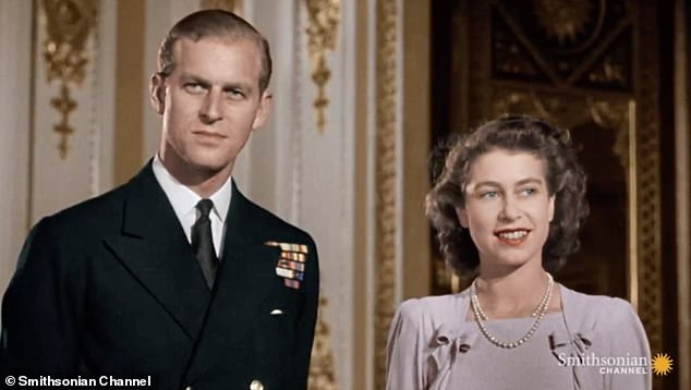 Elizabeth pictured with Prince Philip, Duke of Edinburgh took over as Queen aged just 25 in a spell that has seen her become Britain's longest-reigning monarch