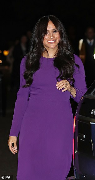 Meghan at the opening ceremony of the One Young World summit at the Royal Albert Hall, London, on October 22