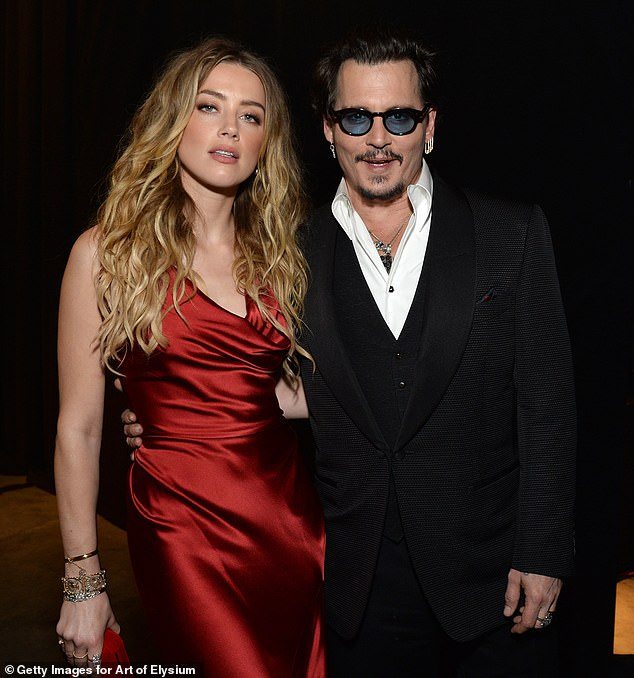 Court:Despite Depp's claims that it was irrelevant, the judge sided with Heard; pictured January 2016