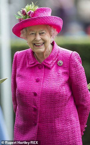 Her Majesty appears to have let slip her slimming secret at a luncheon party at Buckingham Palace