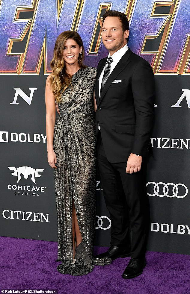 Glam: The couple was snapped at theAvengers: Endgame premiere in April in LA