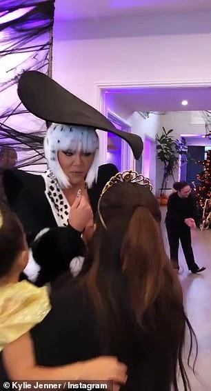 Mom: Khloe was dressed as Cruella Deville