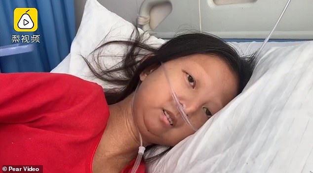 He thanked the people who helped her for her generosity. She said she looked forward to the day she could recover. Ms. Wu died yesterday afternoon of an unspecified disease.