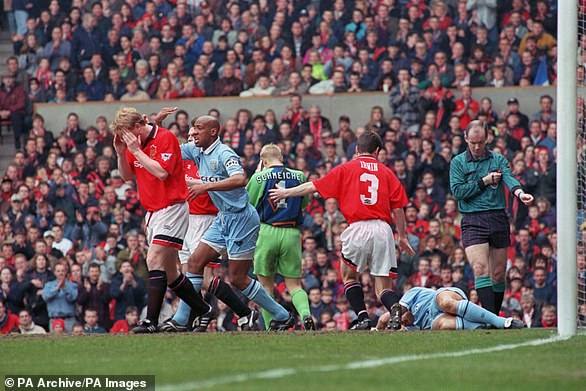 David Busst collided with United players Denis Irwin and Brian McClair in 1996 in what is considered one of football's most gruesome injuries