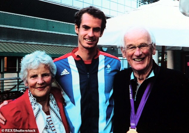 Sir Andy's grandfather Roy Erskine (pictured right) has said both mother and baby are doing well