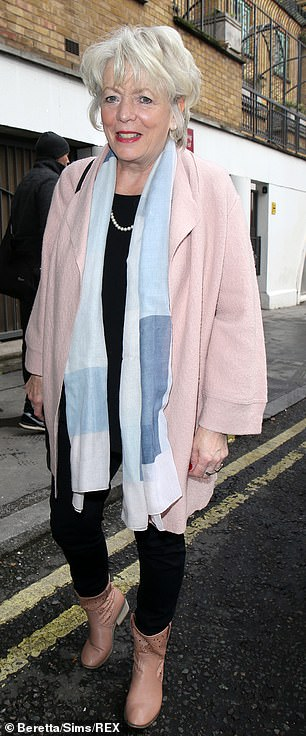 Followed by: The likes of Alison Steadman were also in attendance