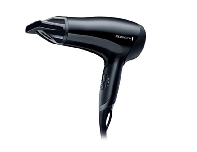 The Remington D3010 Power Dry Lightweight Hair Dyer has been rated highly among Amazon customers for its lightweight (0.56kg) yet powerful design