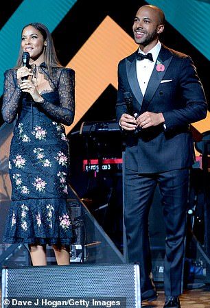 Hosts: Marvin and Rochelle hosted the awards ceremony on Monday evening
