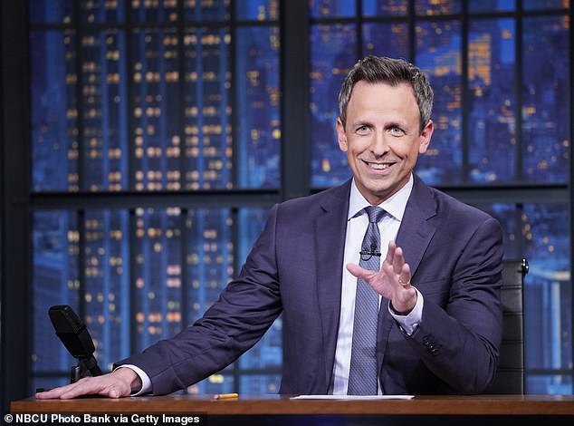 Meyers has been relentless in his ridicule of the U.S. president Donald Trump on NBC's Late Night with Seth Meyers