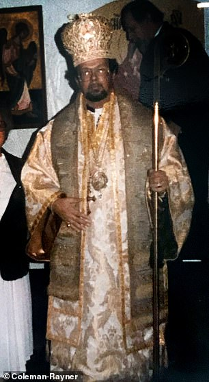 Fred began a small church in Florida in the 1980s which no longer has any followers, and prefers to be known as Bishop Dismas F. Markle