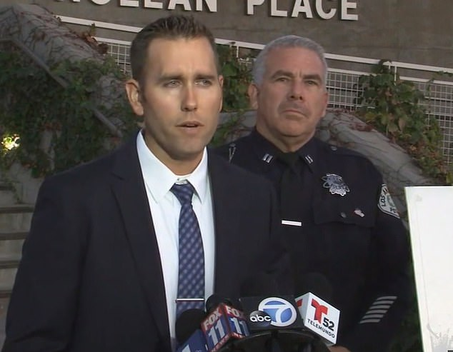 LAPD Detective Josh Wade says he believed Ocampo's family are helping him evade the police