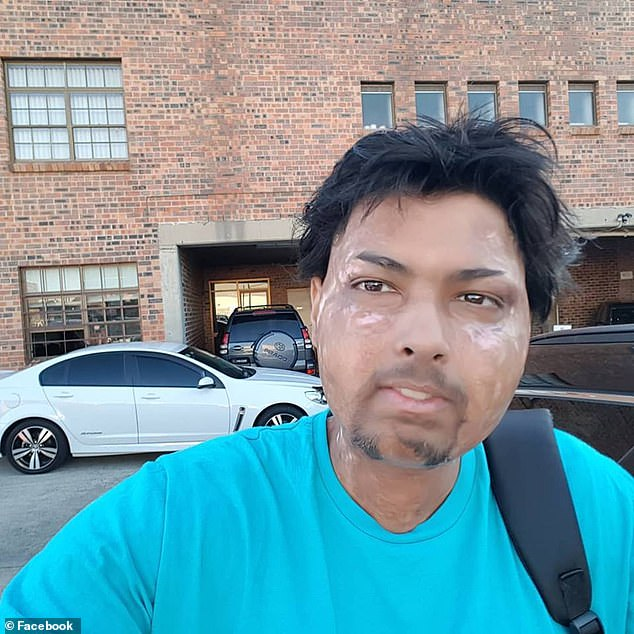 Mr Autar (pictured)said he's been the victim of anti-vaxxer and anti-science groups' abuse for many years