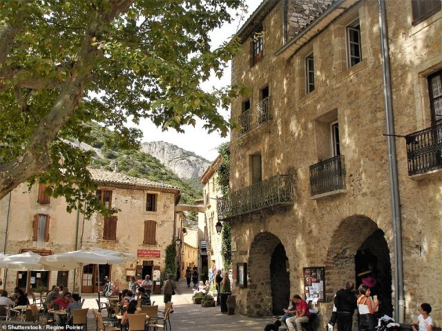 The village of Saint-Guilhem-le-Desert is one of the Languedoc's unmissable pit stops. While there you'll want to take in the Unesco-listed church, the charming square (pictured) and 'sun-weathered' abodes