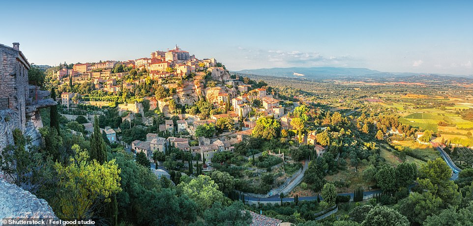 Gordes, as the book says, is the 'archetypal Provencal village'. The views are stunning, the cobbled streets enchanting and its history fascinating. It's little wonder that the settlement, which faces the famous Luberon mountain, has inspired numerous poets and artists over the years