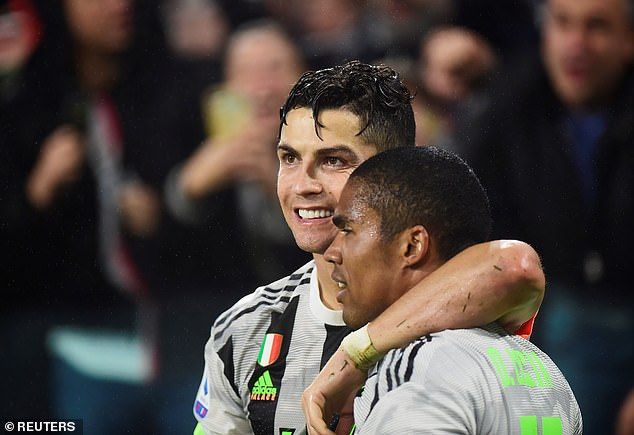 Douglas Costa believes Cristiano Ronaldo has had a transformative effect on Juvenus' stars