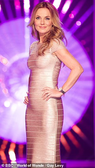 Spice Up Your Life! Geri Horner was also on the judging panel