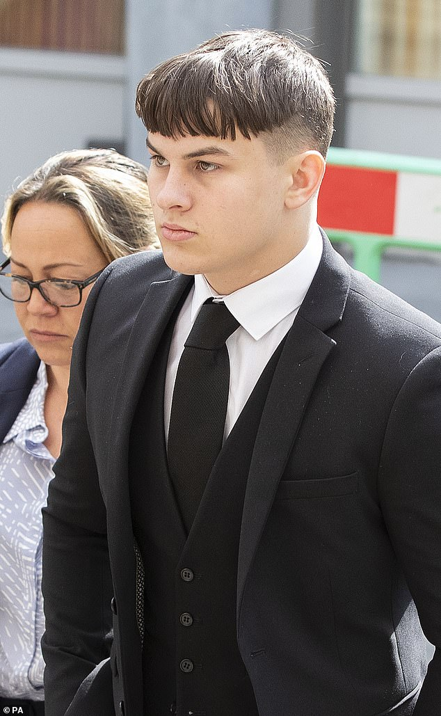 Joshua Molnar, now 18, (pictured) was cleared of murder and manslaughter after he told Manchester Crown Court Yousef's death was a 'tragic accident'