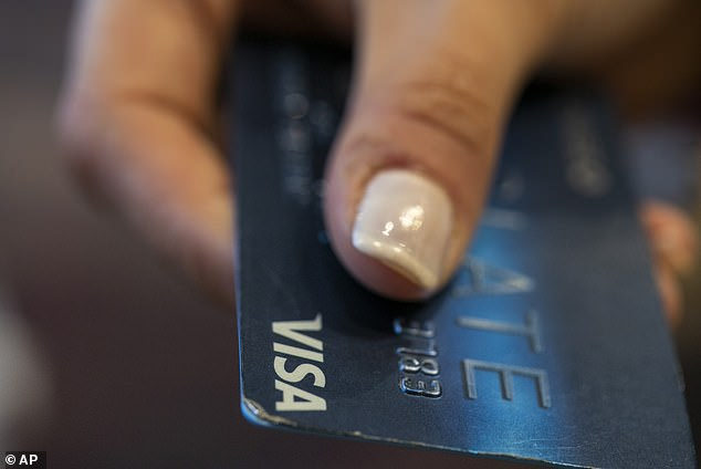 The rise has been fuelled by the amount borrowed by drivers to buy new cars, as well big increases in credit card spending (stock image)