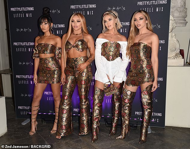 Girl power! The whole squad attended to celebrate the launch of their first clothing line