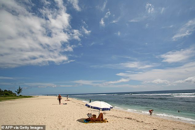 The 44-year-old British national from Scotland had been swimming off the holiday French island of Reunion (pictured), near Madagascar, when the attack took place