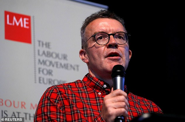 Mr Watson has been a vocal critic of Mr Corbyn's Brexit policy and argued in favour of a second referendum being held before a general election