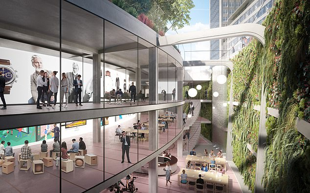 The 280,000 sqft development beneath Cavendish Square - one of the capital's original Georgian squares - will house healthcare facilities as well as retail and leisure spaces