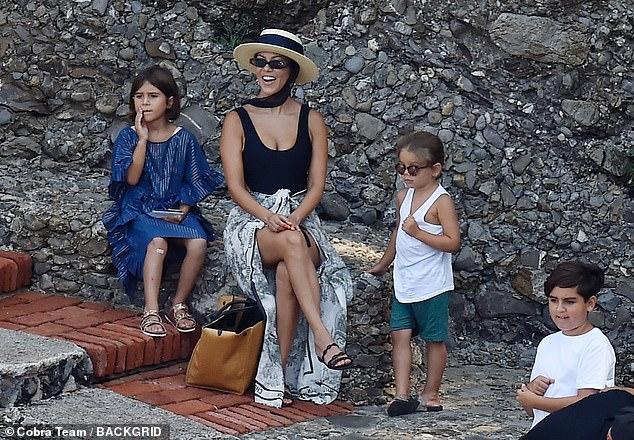 Kourtney Kardashian says she's taking a step back from ...