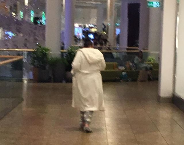 Shoppers stocked up on pyjamas, all-in-ones and dressing gowns as around 60 people bedded in for the night at Meadowhall