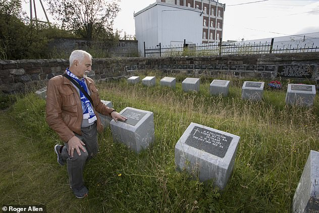 """Ivan Keravka, the hard skipper of an icebreaker moored in Murmansk Bay, has never forgotten the region. Walking between the gravestones, he thinks of his own children. """"Some of these men were so young,"""" he says"""