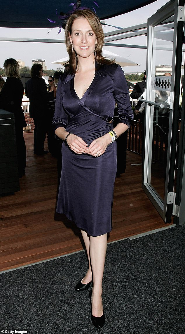Dramatic end: The show's news reporter Kellie Connolly (pictured in 2007) was then brought in, still in 2007, hosting the show for just two months before she dramatically collapsed on air.Kelly moved on to host Nine's Nightline before being made redundant from the role in 2009