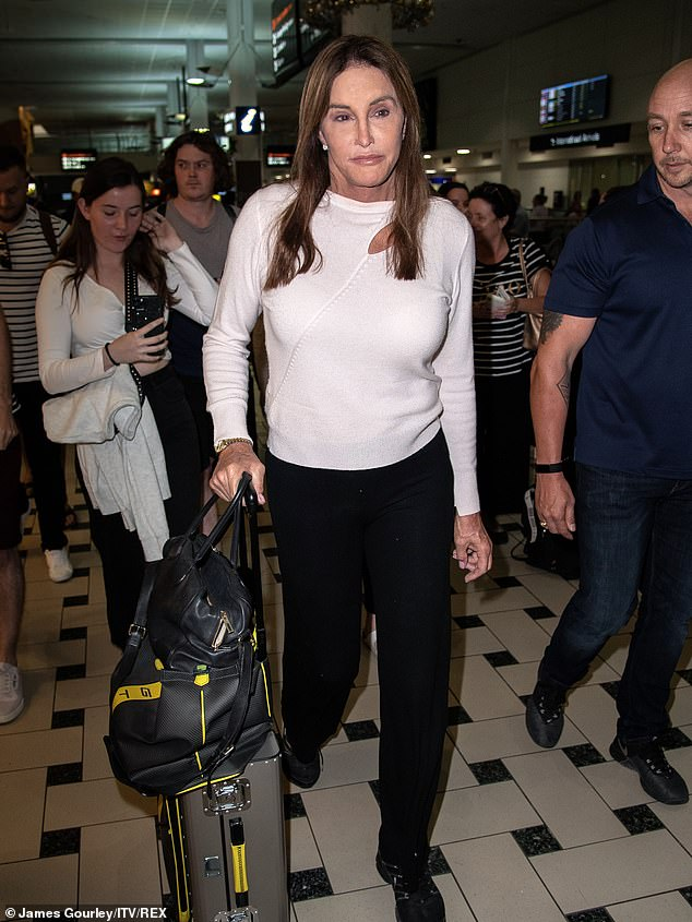 She arrived! A few hours earlier, the former KUWTK star, Caitlyn Jenner, has apparently confirmed the incessant rumors that she appears in the show.