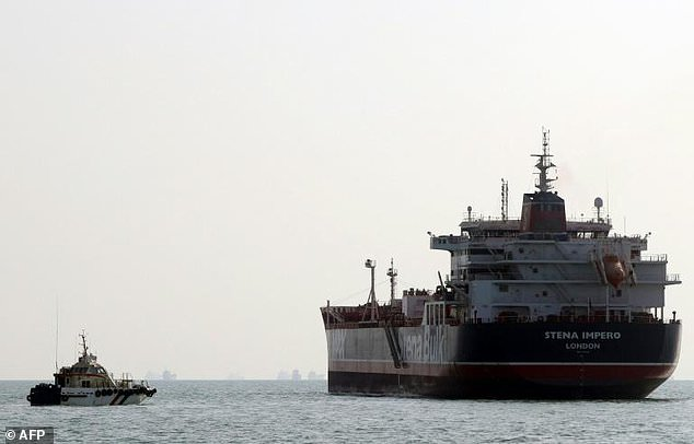Tensions have been high in the Gulf with a series of incidents involving oil installations