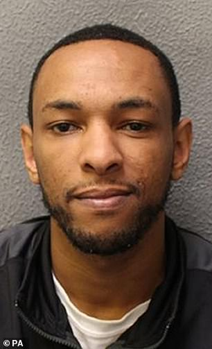 Ashley Smith, of Archway, north London, was jailed for 10 years after attempting to rob the men of luxury watches worth £200,000. He was filmedbegging for mercy as a fellow inmate attacked him in prison