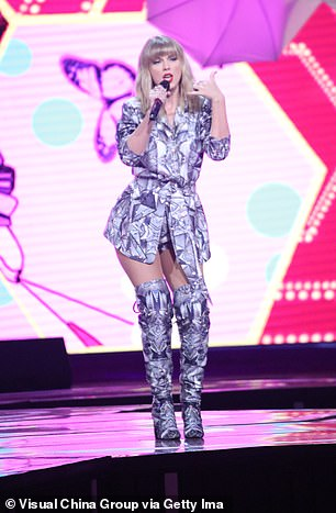 Energetic: The songstress kept her fans engaged as she put on an animated display