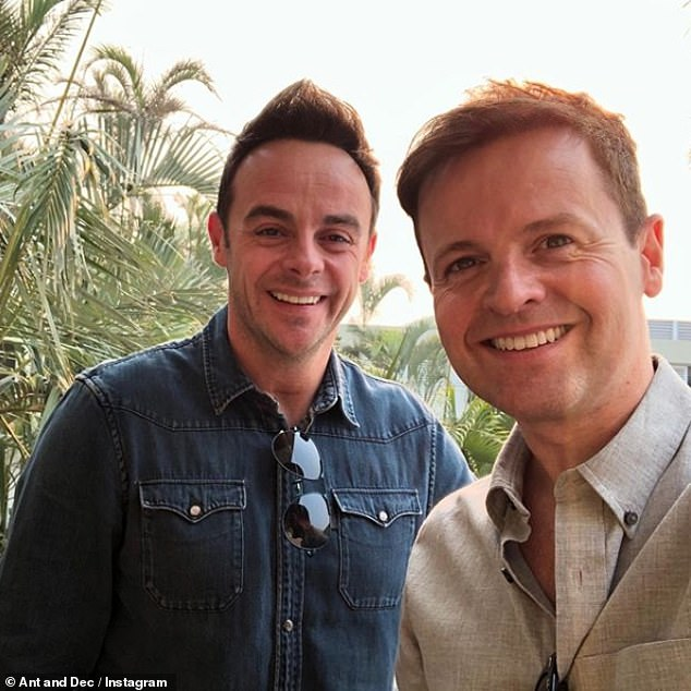 Back together: When the sports specialist landed at Brisbane Airport on Sunday, the hosts of the show Ant and Dec posted a selfie together, marking the first time that the couple found themselves together in two years, as a result of the Ant disaster because of personal struggles.