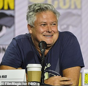 Game Of Thrones star Conleth Hill (pictured) has denied being responsible for the show's coffee cup controversy