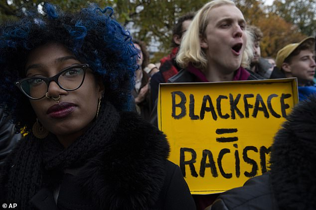 Opponents gathered at several parade across the country last year and they said that such depictions promoted racial stereotypes