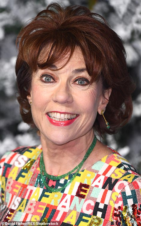 Kathy Lette, novelist, pictured in London this month
