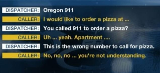 Police released a recording of the 911 call on Tuesday