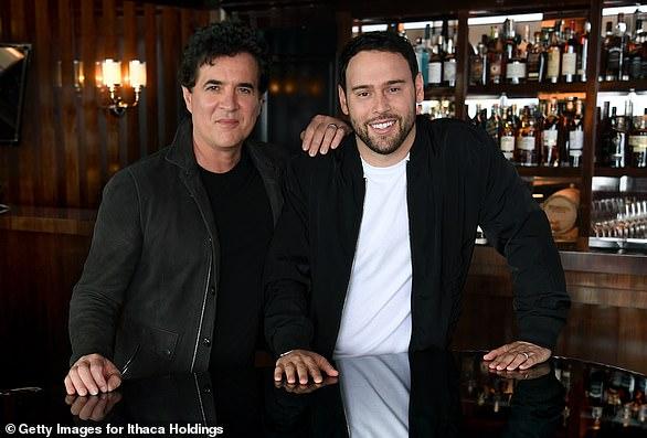 Controversial sale: Scott Borchetta and Scooter Braun in June 2019