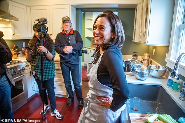 Harris has shifted her campaign focus to Iowa, where she spent Thanksgiving