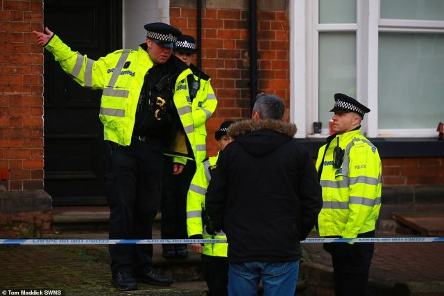 A block of flats in Stafford, Staffordshire, is being searched by specialist police teams this morning, in connection with the terror attack on London Bridge yesterday